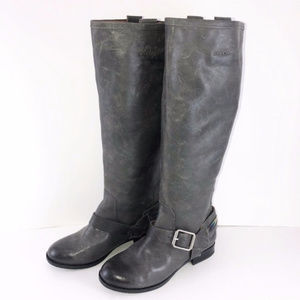 Lucky Brand Knee High Boots with Embroidery 6M/36